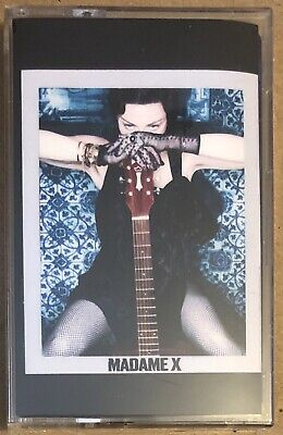 MADONNA - MADAME X Deluxe BLUE Cassette UK ONLY EXCLUSIVE NEW AND SEALED