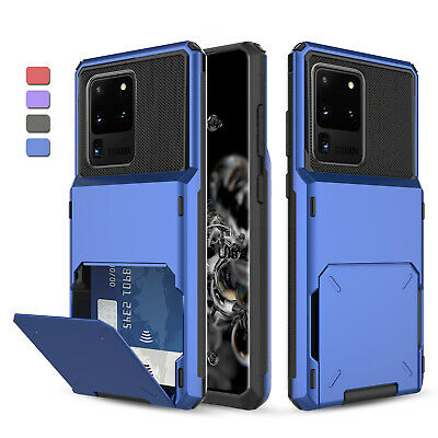 For Samsung Galaxy Note 10 Plus/S10 Protective Case With Card Wallet Holder Slot