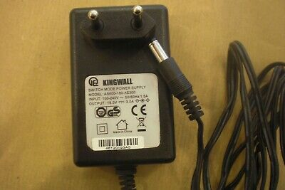 Original Netzteil Kingwall Model:AS600-180-AE300 Output:18V-3,0A            #302
