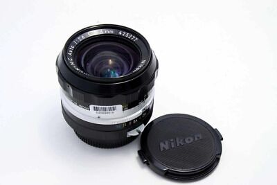 Nikon Nikkor NC Auto 24mm F2.8 Pre-Ai MF Prime Lens Excellent from Japan F/S