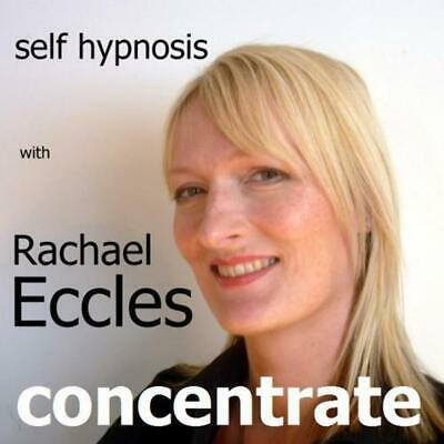 Concentrate Hypnosis CD Improve Concentration Hypnotherapy