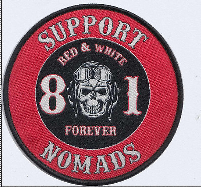 HELLS ANGELS SUPPORT Your Local 81 Los Angeles Patch