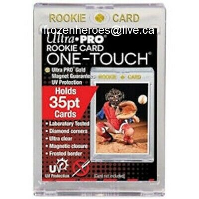 Ultra Pro 35Pt Rookie One Touch Magnetic Holder Uv Protect**Free Shipping Promo*
