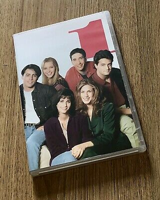 Friends Complete First Series 1 Season 1 4-Disc Set Box Set Episodes 1-24