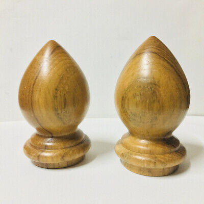 Wooden turned finials for Antique Clock Furniture home decor 1Pc