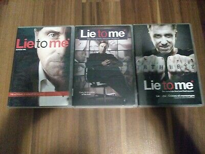 LIE TO ME TV SERIES COMPLETE FINAL SEASON 3 New Sealed 4 DVD