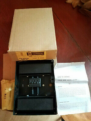 NOS Vintage Rittenhouse Electric Door Chime Crestwood Model 345 -No Cover