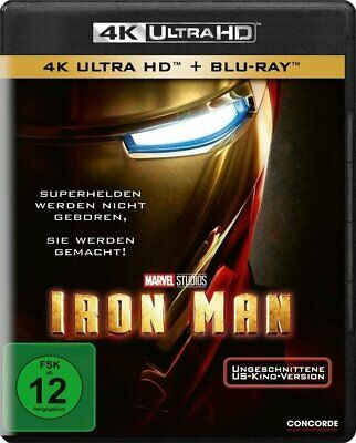 Iron Man 1 (4k Uhd) [Blu-ray]