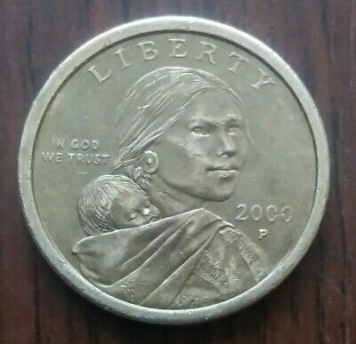 2000 United States Of America - One Dollar coin.