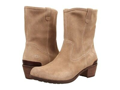 2418549fb62 NEW UGG AUSTRALIA Briar Womens Distressed Brown Suede Ankle Boots US ...