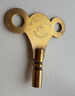 popular progress brass clock key number 8