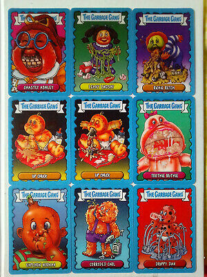 The Garbage Gang 9 Special Lenticular Motion Cards Lot TOPPS 2019