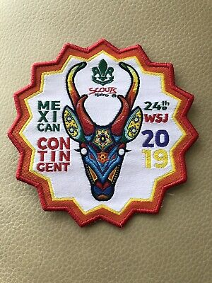24th WORLD SCOUT JAMBOREE, USA 2019,  MEXICO CONTINGENT PATCH