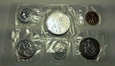 CANADIAN COINS: 1977  Canada Proof-like Set-6 coin set MINT SEALED Lot I