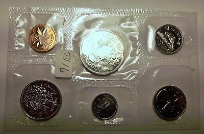CANADIAN COINS: 1971 BC  Canada Proof-like Set-6 coin set MINT SEALED Lot I