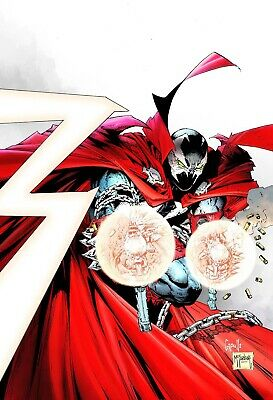 SPAWN 300 COVER K 1:25 GREG CAPULLO TODD McFARLANE VIRGIN VARIANT PRE-SALE 9/4
