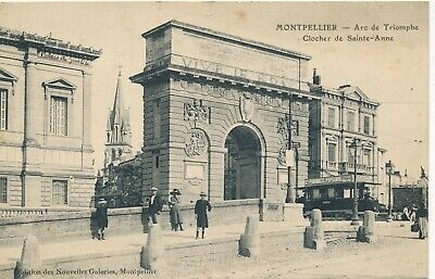 CPA - France - (34) Hérault - Montpellier - Arc de Triomphe - Clocher de Sainte-