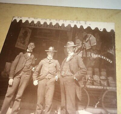Rare Antique American Occupational Tumpowsky Store! Mannequin NY Cabinet Photo!