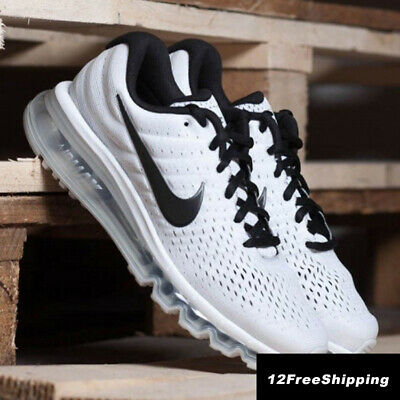 Nike Air Max 2017 Men's White Running Trainers Shoes