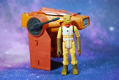 VINTAGE STAR WARS AST-5 MINI-RIG VEHICLE KENNER + BOSSK ACTION FIGURE ast5