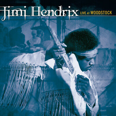 Live At Woodstock by Jimi Hendrix (CD, May-2019, Legacy) *NEW* *FREE Shipping*