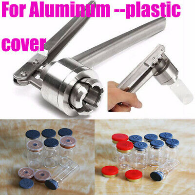 Hand Sealing Machine Flip Off Cap Vial Seal Laboratory glassware bottles lab