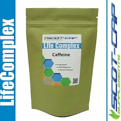 Caffeine Capsules 200mg - Weight loss Diet Fat Burner Slimming, Workout Energy