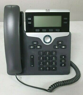 CISCO CP-7841-K9 VoIP IP Phone Telephone
