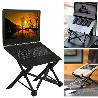 Universal Laptop Stand Tablet Adjustable Height Foldable Holder Macbook Portable