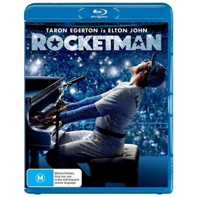 Rocketman (Blu-Ray, 2019) BRAND NEW & SEALED - RELEASE DATE 28.08.2019