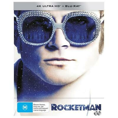 Rocketman Steelbook (4K + Blu-Ray) BRAND NEW & SEALED - RELEASE DATE 28.08.2019
