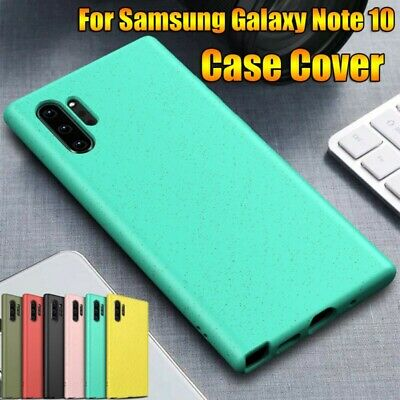 For Samsung Galaxy Note 10+ Plus Shockproof Soft TPU Ultra Slim Matte Case Cover