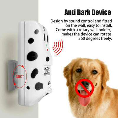 Ultrasonic Anti Stop Barking Dog Training Repeller Control Silencer Device USA