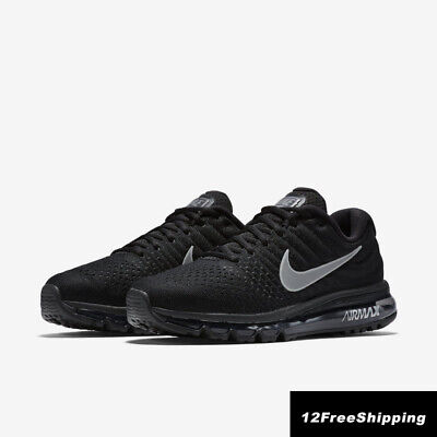 Nike Air Max 2017 Men's Black Running Trainers Shoes