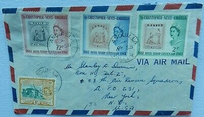 St Christopher Nevis Anguilla  Cover 1961