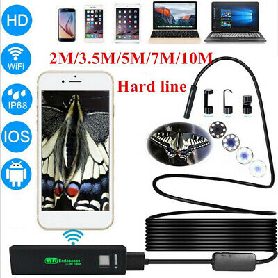 For Android Endoscope 6 LED 5.5mm Snake Borescope Micro USB Inspection Camera