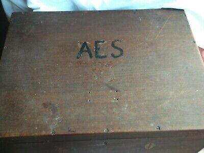 Vintage Large Wooden Box For Restoration/Up-Cycling