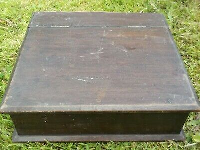 Vintage /Antique Wooden Bible/Deed/Writing Box For Restoration
