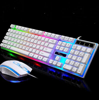 Pro Keyboard Mouse Set Adapter for PS4/PS3/Xbox One And 360 Gaming Rainbow UK