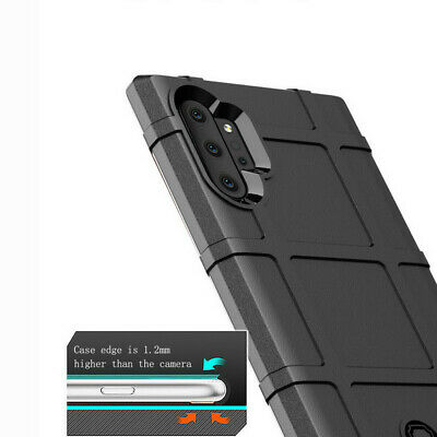 For Samsung Galaxy Note 10 Plus 9 S10 Shockproof Silicone Armor Hard Cover Case