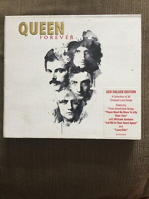 Queen  -  Forever  [Deluxe 2CD Edition]  (Double CD, 2014) Greatest Hits / Best