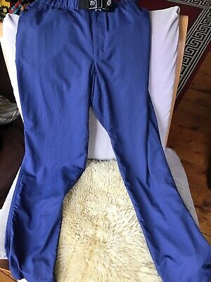 Lowe Alpine Mens Mountain Climbing Trousers with leg bottom tie up BNWOT Size S