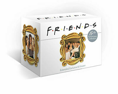 Friends - The Complete Series 1-10 DVD New UNSEALED MINOR BOX WEAR