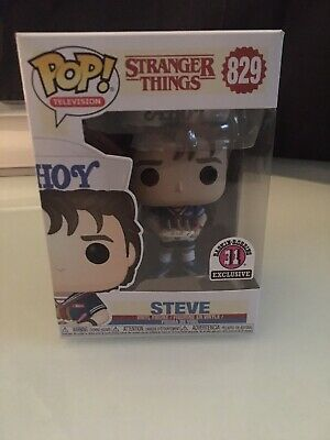 Funko Pop 829 Television Stranger Things steve With baskin robbins exclusive