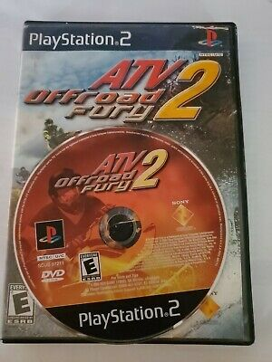 PlayStation2 : ATV Offroad Fury 2 Disc & Case only