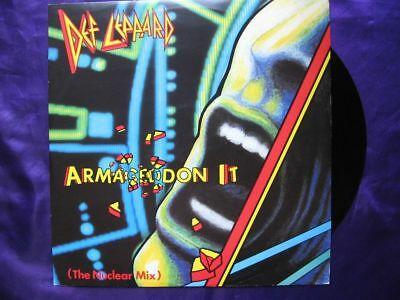DEF LEPPARD  Armageddon It (The Nuclear Mix) MAXI 45T