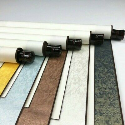 Chinese Xuan Paper Blank Scrolls Vertical Wall Scroll Retro Calligraphy Supply