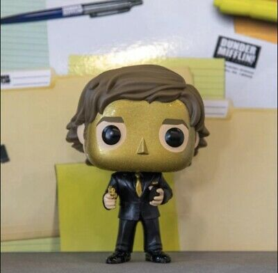 2019 New Funko Pop! The Office Goldenface Jim Target Exclusive Preorder