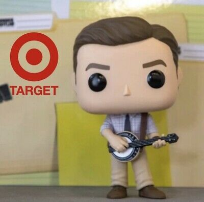 New 2019 Funko Pop! The Office Andy Bernard With Banjo Target Exclusive Preorder