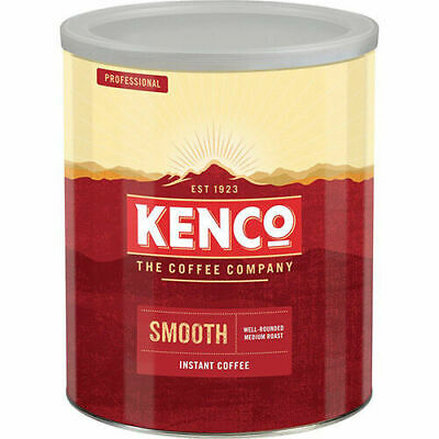 Kenco Smooth Instant Well Rounded Medium Roast Coffee